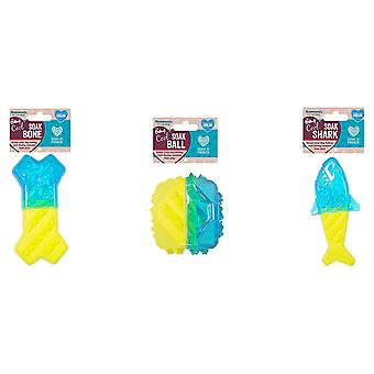 Rosewood Chillax Cool Soak Toys for Dogs