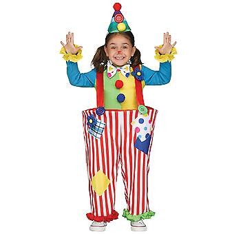 Crazy Clown Circus Birthday Party Funny Book Week Boys Girls Costume 4-6