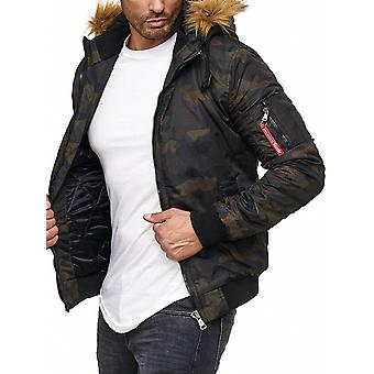 L.A.B 1928 men's winter jacket camouflage