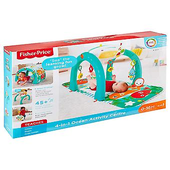 Fisher Price 4-in-1 Ocean Activity Center Gym