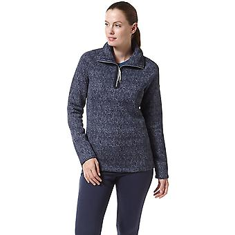 Craghoppers Womens Braemar Insulated Half Zip Fleece Jacket