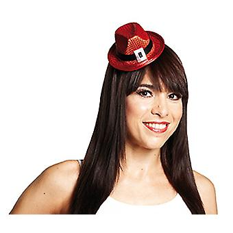 Fedora red hair clip