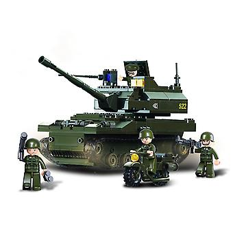 Kombat Military Bricks Battle Tank