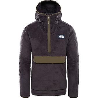 North Face Campshire Pullover Hoodie - Weathered Black/Green