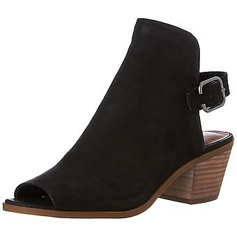 Lucky Brand Womens Bray Open Toe Ankle Fashion Boots
