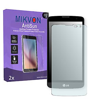 LG L Bello Screen Protector - Mikvon AntiSun (Retail Package with accessories)