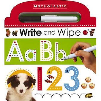Skriva och torka ABC 123 av Scholastic - 9780545915359 bok