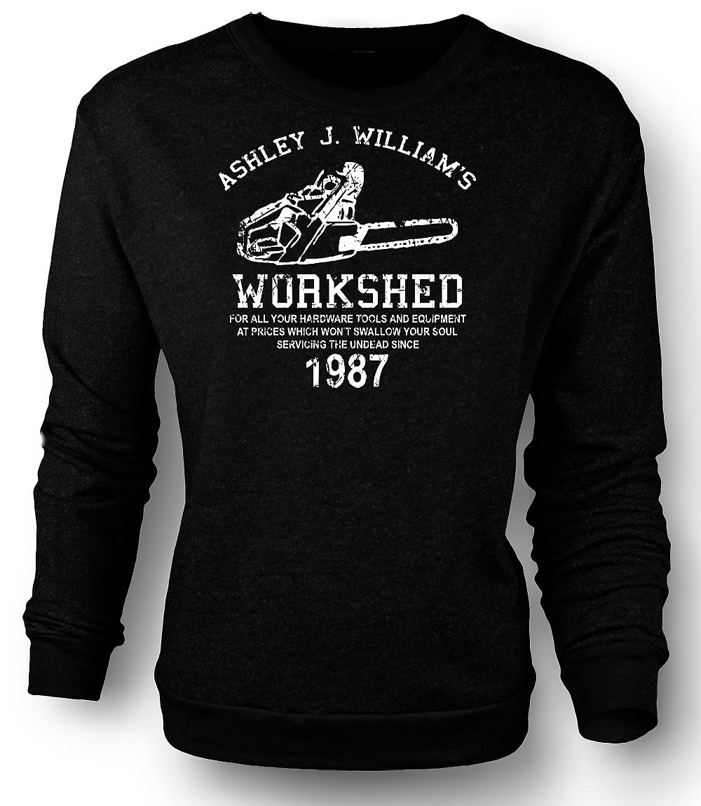 Mens Sweatshirt Evil Dead - Ash Williams - Chainsaw