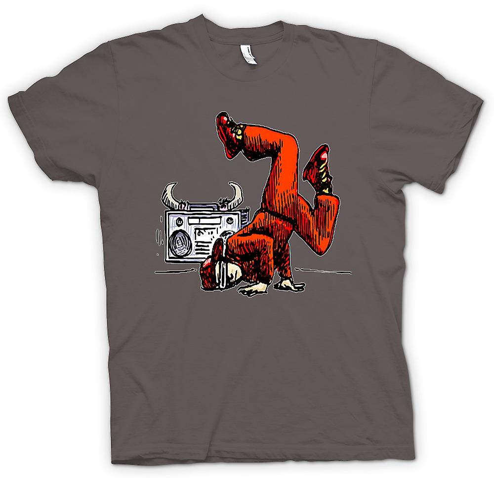 Mens T-shirt - Breakdancing - Hip Hop - Colour