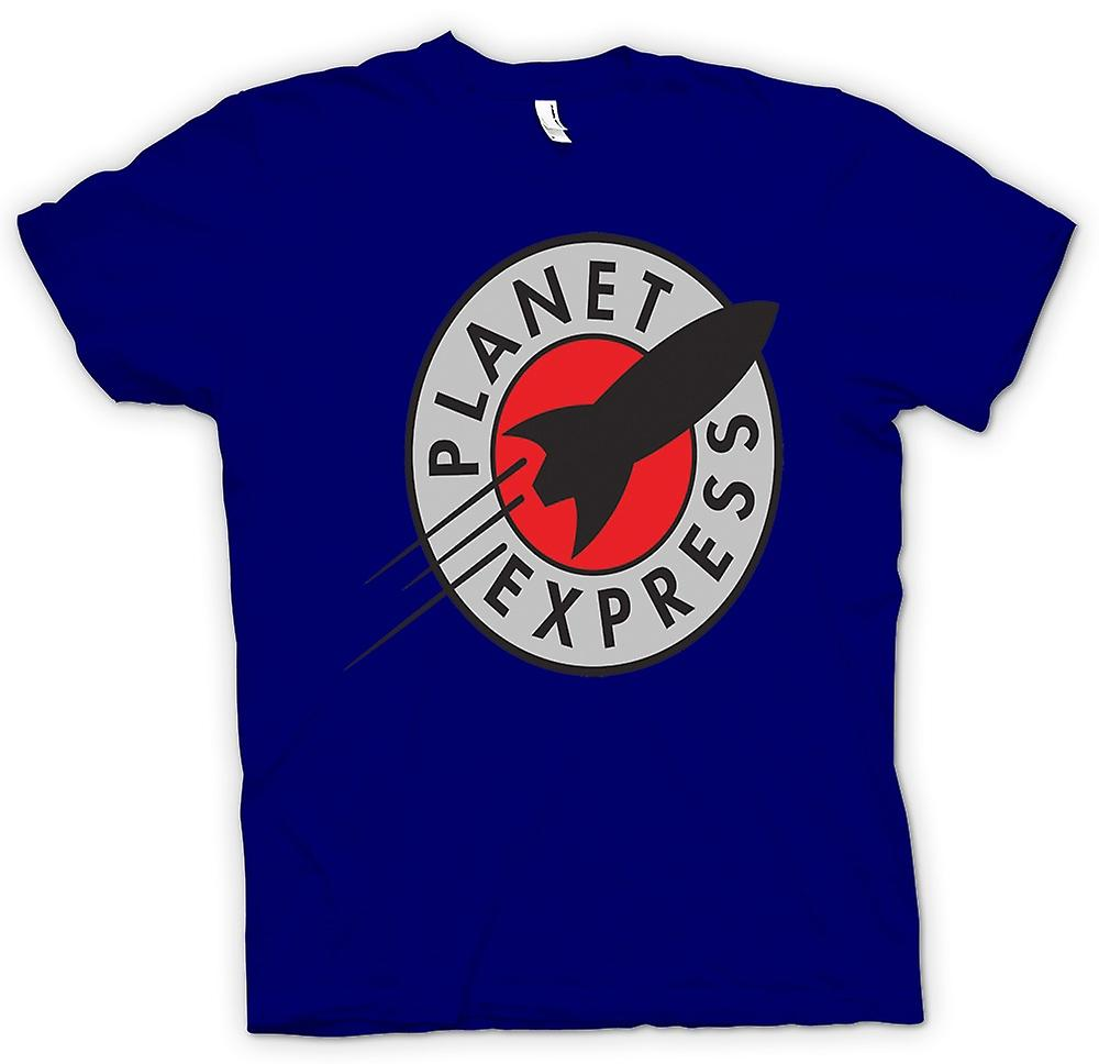 Hommes T-shirt - Planet Express - Quote