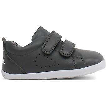 Bobux Step Up Boys Grass Court Shoes Smoke Grey