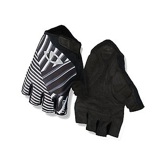 Giro Dazzle Black Reflective 2019 Jag Fingerless Cycling Gloves