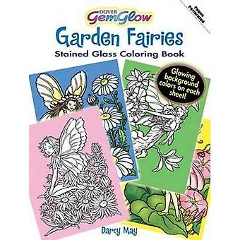 Garden Fairies (Dover Stained Glass Coloring Book)