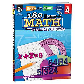 180 Days of Math for Fourth Grade [With CDROM] (Practice, Assess, Diagnose)