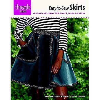 Facile à coudre jupes: Modèles préférés pour plis, enveloppements & plus (fils choisit)
