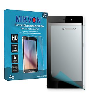 Wiko Highway Star 4G Screen Protector - Mikvon Armor Screen Protector (Retail Package with accessories)