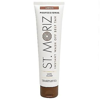 St Moriz Professional Instant Self Tan Wash Off Medium