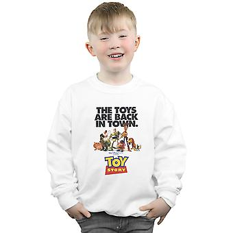 Disney Boys Toy Story Movie Poster Sweatshirt