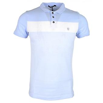 883 Police Knight Cotton Sky Blue Polo