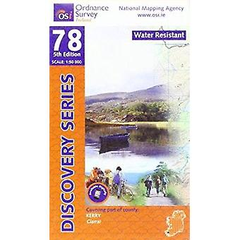 Kerry (5th edition) by Ordnance Survey Ireland - 9781908852496 Book