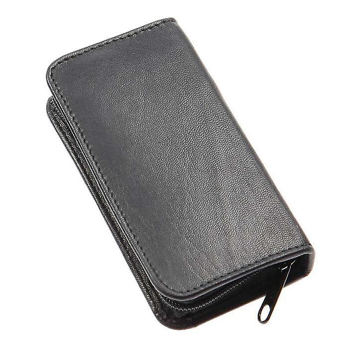 Sonnenschein Germany Travel Leather Manicure Set Black