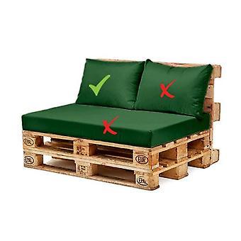 Gardenista® Green Water Resistant EU Pallet Furniture Seating Back Cushion