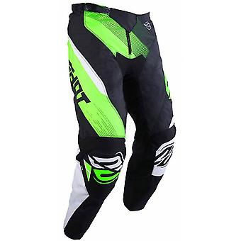 Shot Black Neon Green 2019 Ultimate Kids MX Pant