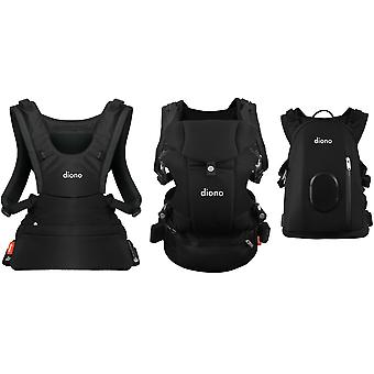 Diono Carus Complete 4 in 1 Front und Back Carrier mit Rucksack