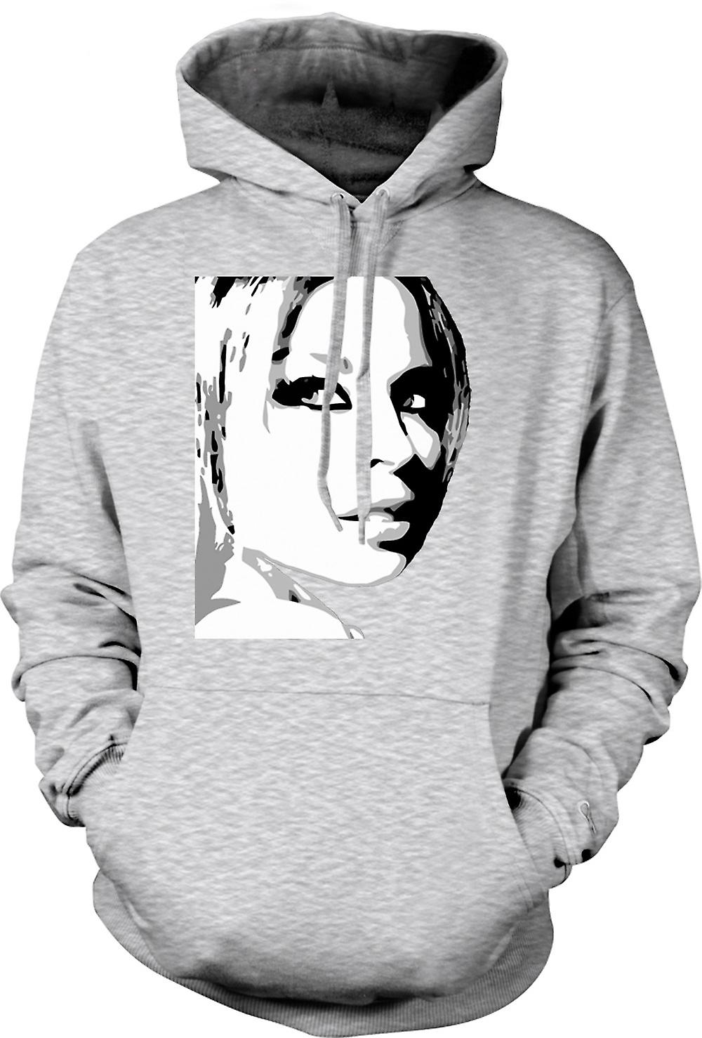 Para hombre con capucha - Kylie Minogue - BW