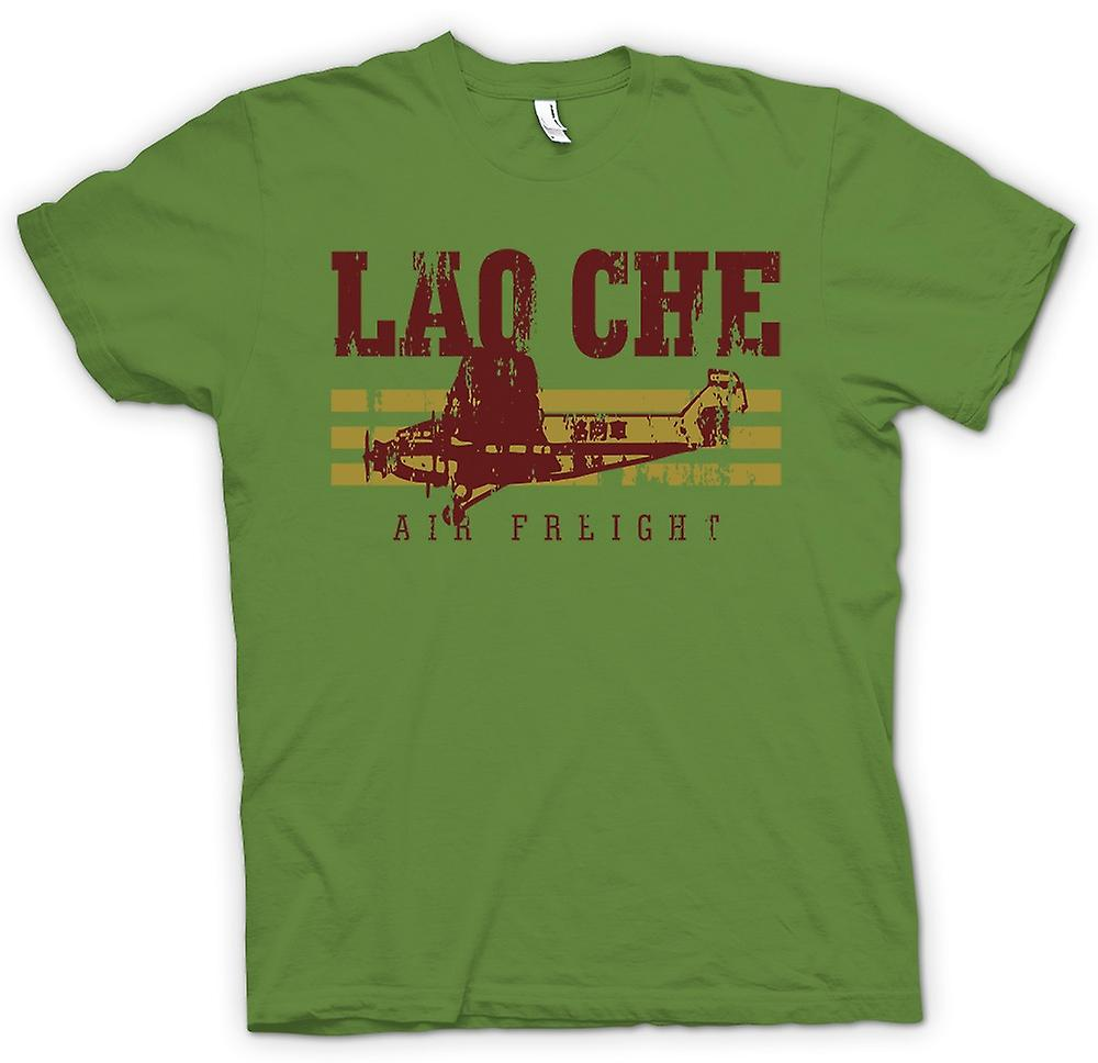 Mens T-shirt - Lao Che Air Freight - Indiana Jones inspiré