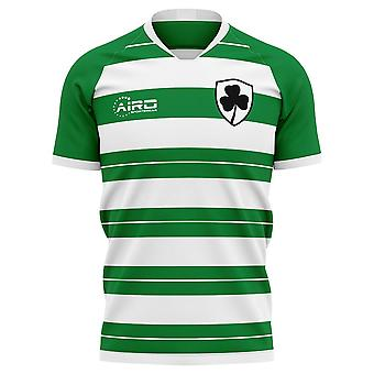 2019-2020 Shamrock Rovers Home concept voetbal shirt