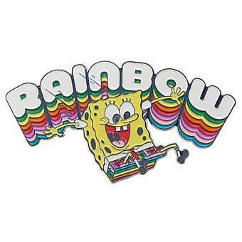 Large Pin - Sponge Bob - Rainbow 3