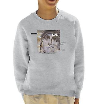 A.P.O.H Salvador Dali Ambition Quote Kid's Sweatshirt
