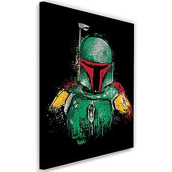 Picture on Canvas Mandalorian Armor Image Decor Green
