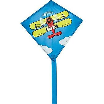 Single line Kite HQ Mini Eddy Biplane Wingspan 300 mm ATT.FX.WIND_FORCE_SUITABILITY 3 - 6 bft