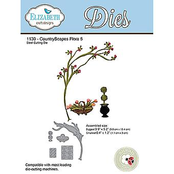 Elizabeth Craft Metal Die-Flora 5 EC1130