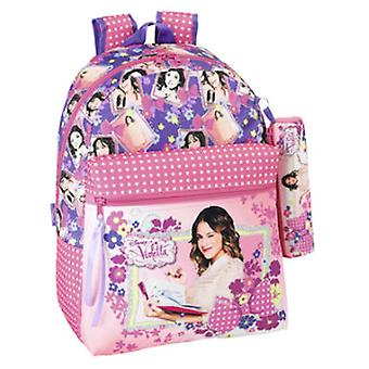Import Backpack + Portatodo Violeta (Toys , School Zone , Backpacks)