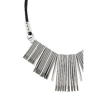 Silver Metal Tone Necklace