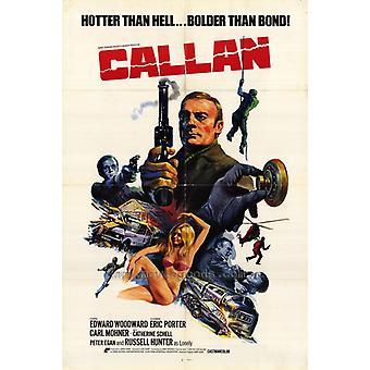 Callan Movie Poster Print (27 x 40)