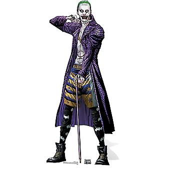 The Joker Suicide Squad Comic Art Lifesize Cardboard Cutout / Standee / Stand Up