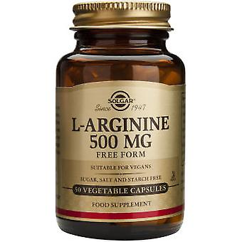 Solgar L-Arginina 500Mg. 50Vegicaps (Vitamins & supplements , Amino acids)