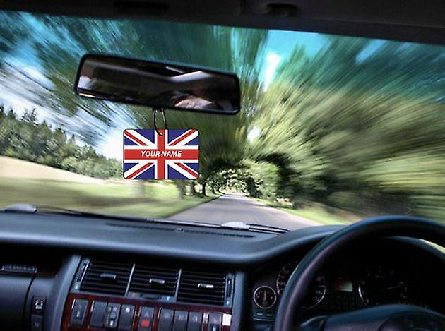 Great Britain Personalised Car Air Freshener
