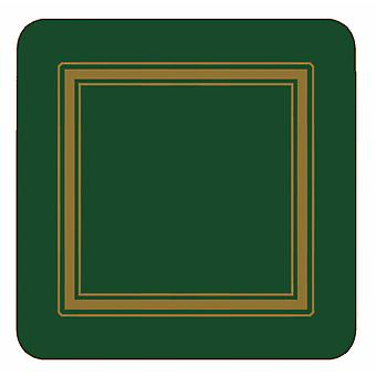 Pimpernel Classic Emerald Green Coasters Set of 6