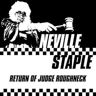 Neville Staple - återvända av domare Roughneck [Vinyl] USA import