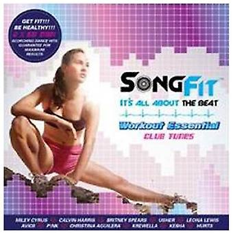 Songfit: Workout Essential Club Tunes - Songfit: Workout Essential Club Tunes [CD] USA import