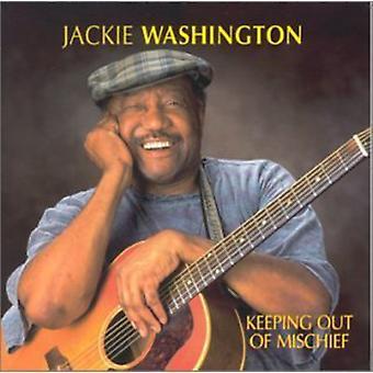 Jackie Washington - at holde ud af fortræd [CD] USA import