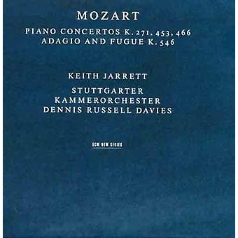 Keith Jarrett - Mozart: Piano Concertos K. 271, 453, 466 [CD] USA import