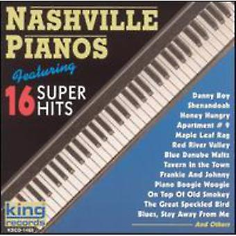 Importación de Pianos de Nashville - 16 Super Hits [CD] Estados Unidos
