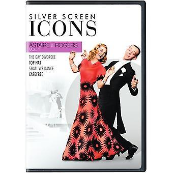Icone dello schermo d'argento: Astaire & Rogers [DVD] Stati Uniti importare