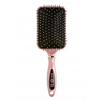 Headjog 81 Pink Ceramic/Ionic Paddle Brush